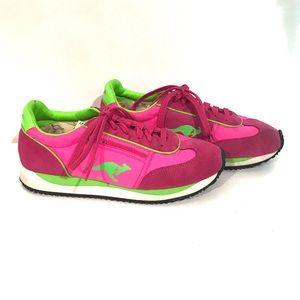 Retro KangaROOS Sneakers with Zip Pockets Size 8